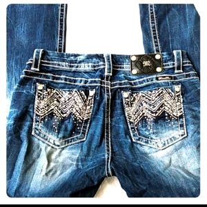 Miss Me mid-rise easy boot jeans